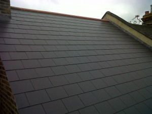 Slate Roofing Project 003