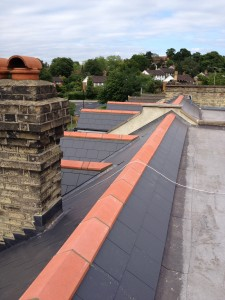 Slate Roofing Project 002