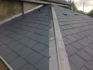 Slate Roofing Project 001